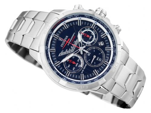 F6836/3 Blue Dial Festina Mens Chronograph Bracelet Watch